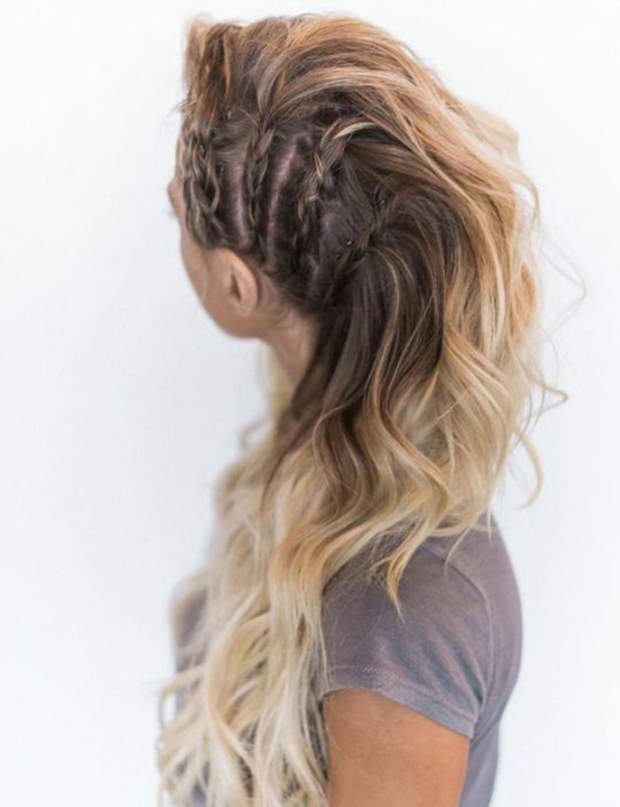 Le Side Hair Tressé