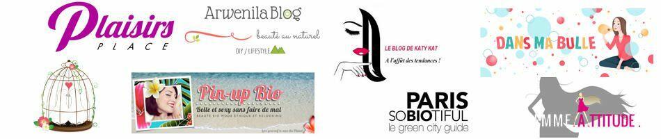 Testimonials from bloggers on Biocoiff'.