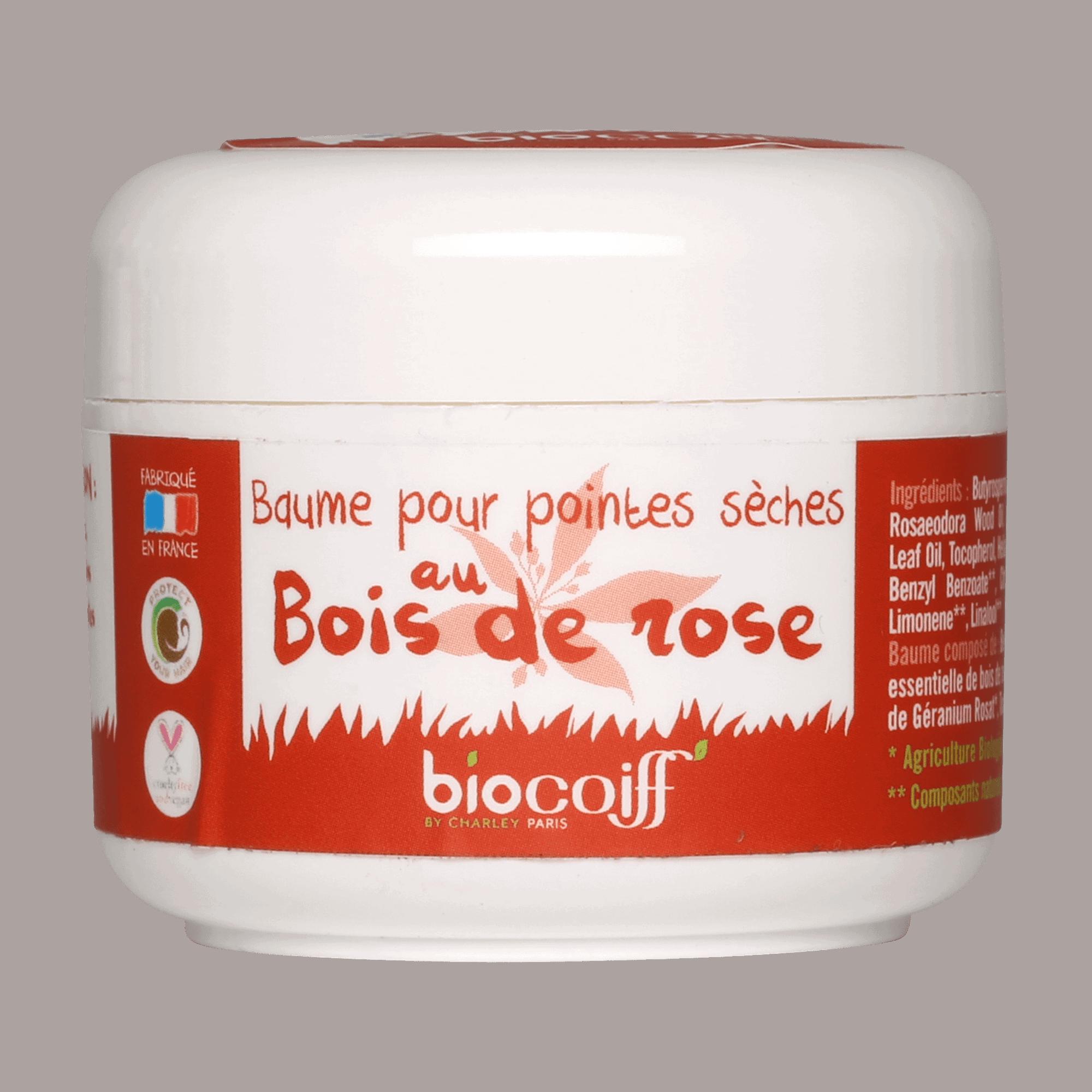 baume cheveux nourrissant bio
