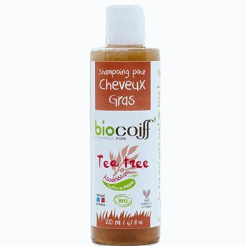 shampoing bio pour cheveux gras