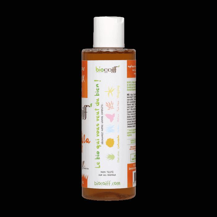 shampoing bio pour cheveux secs au calendula