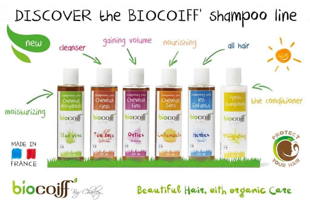 biocoiff organic shampoos