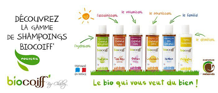 shampoings bio biocoiff