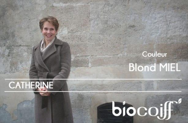 Coloration Biocoiff blond miel