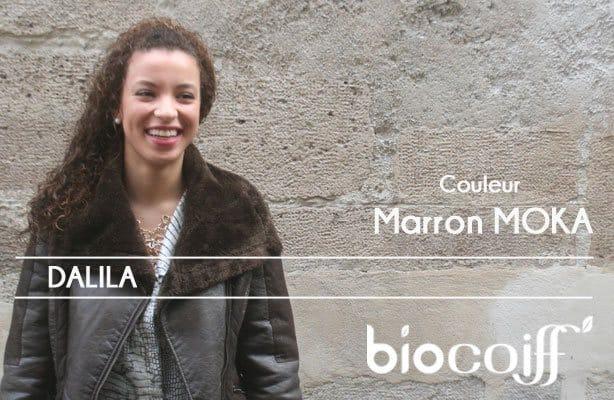 Coloration Marron Moka de Dalila
