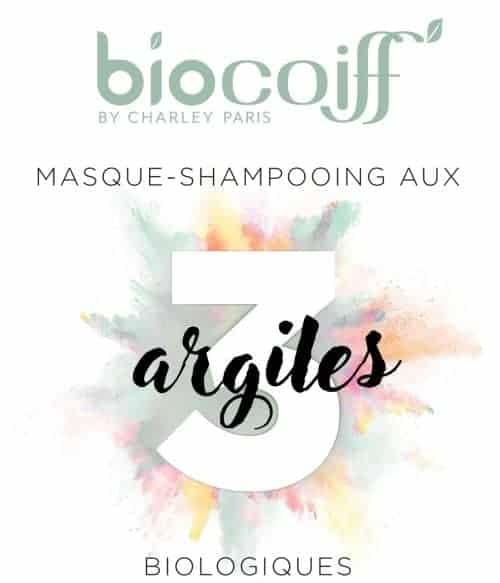 Shampoing masque aux 3 argiles bio