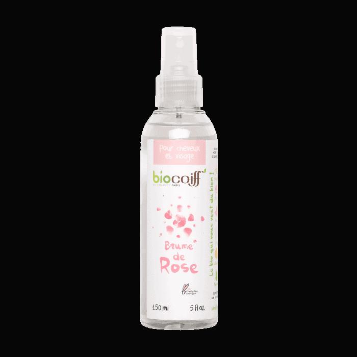 brume de rose pour cheveux bio