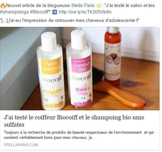 apres shampoing biocoiff