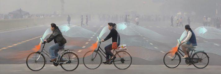 Un vélo qui purifie l'air quand vous pédalez