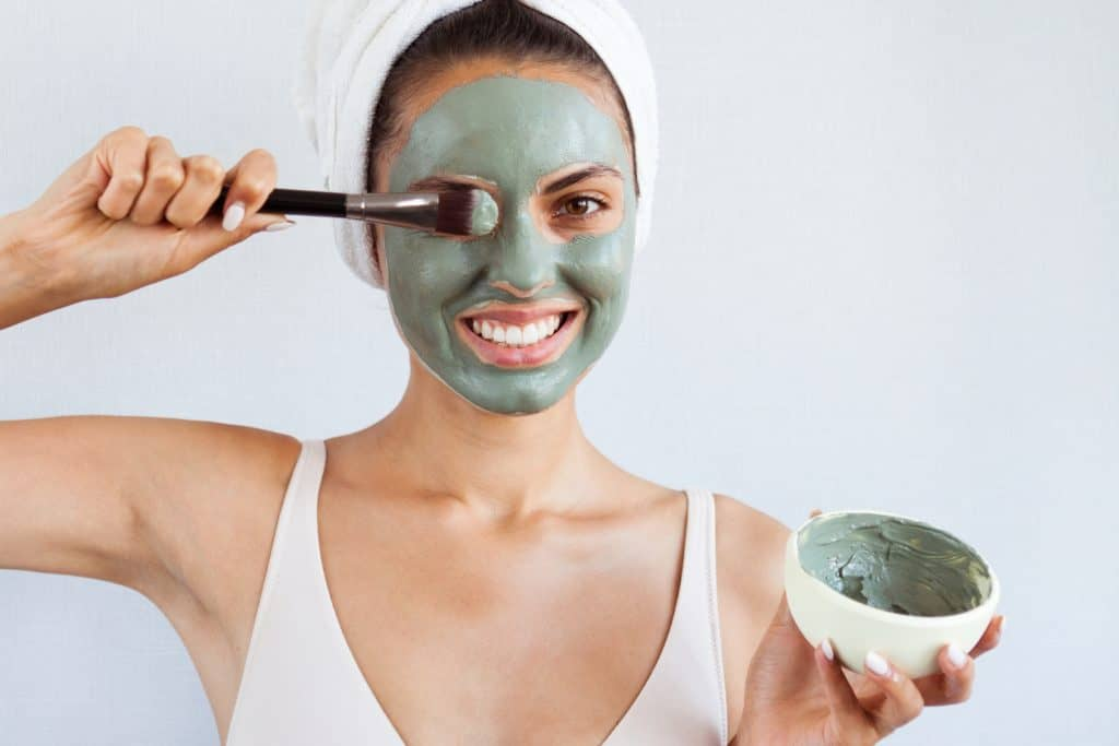 argile masque comestible