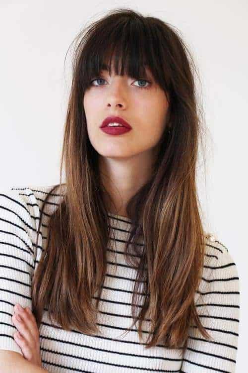 Coupe Cheveux frange