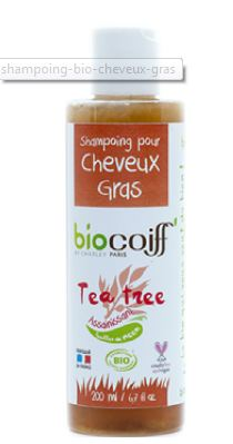 shampoing tea tree cheveux gras