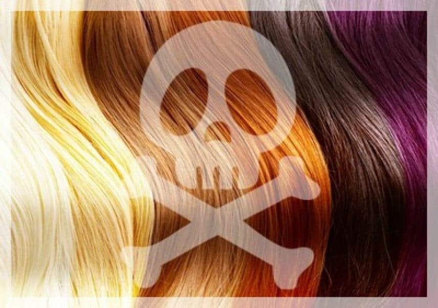 coloration chimique dangereuse