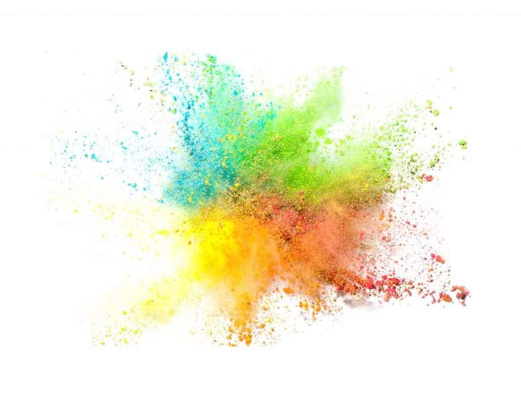 explosion de couleurs végétales