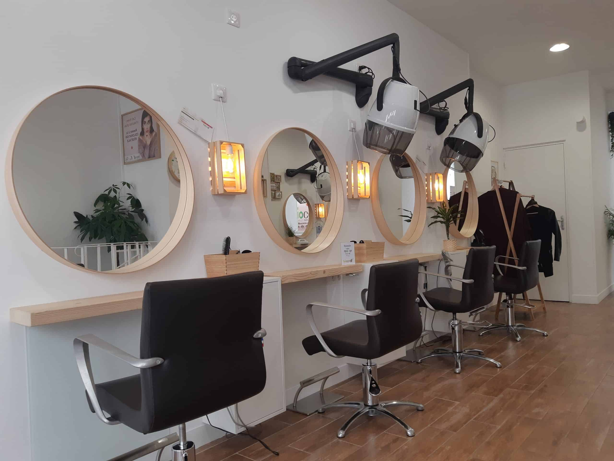 salon de coiffure naturel