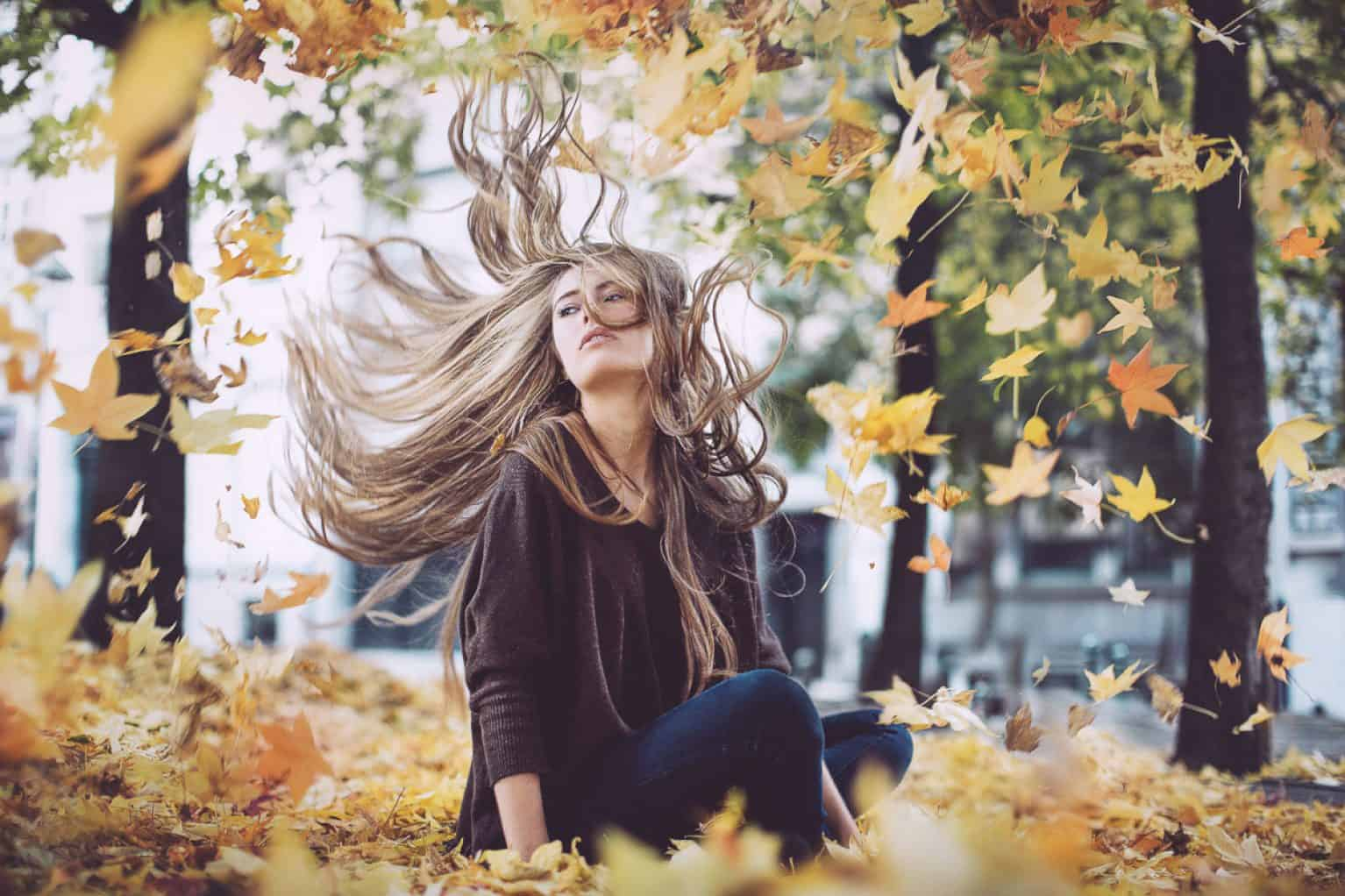Cheveux en automne