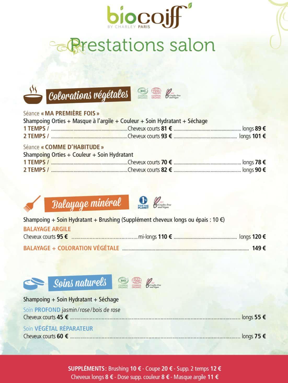 biocoiff frejus tarifs 1