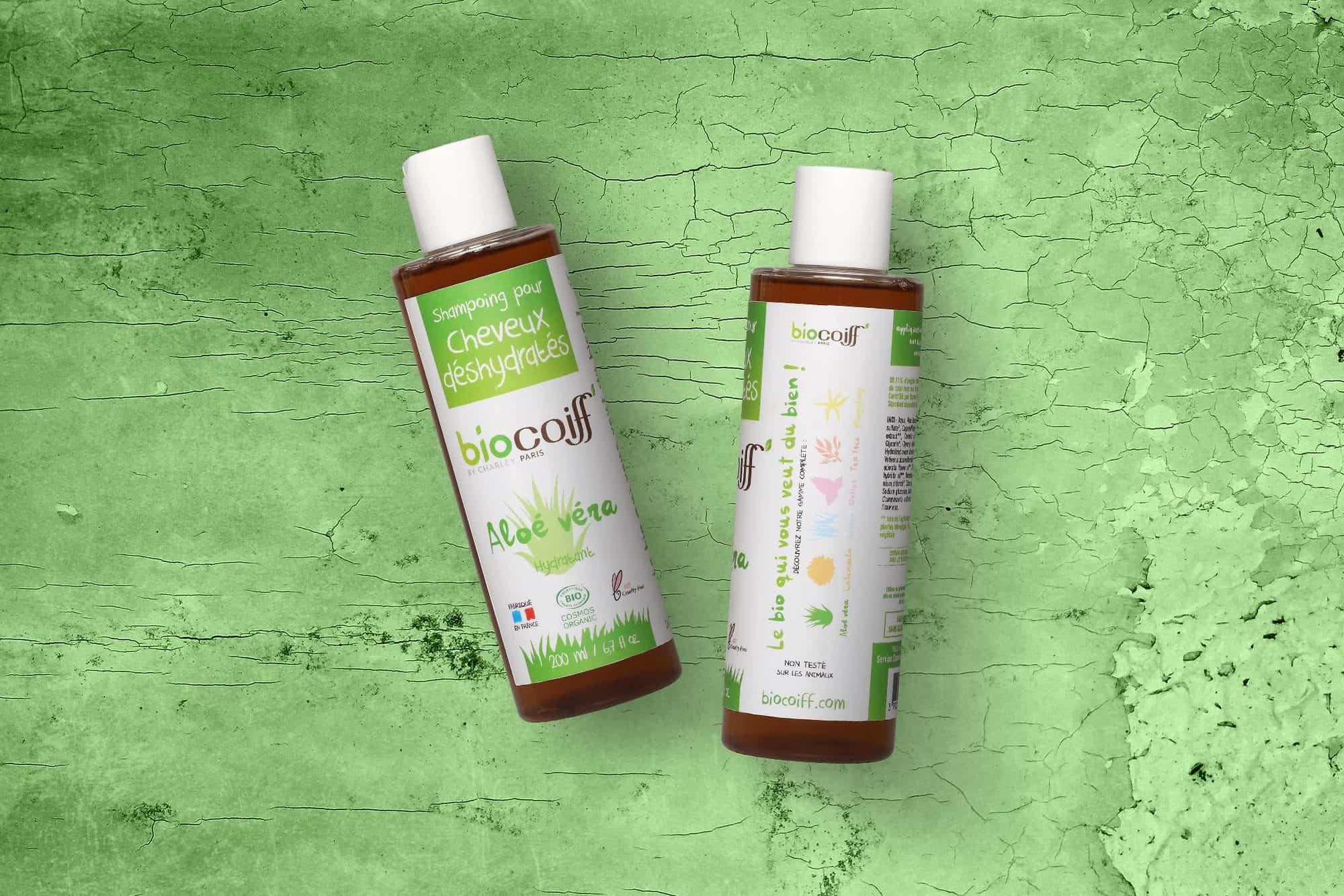 Photo du shampoing bio biocoiff a l'aloe vera