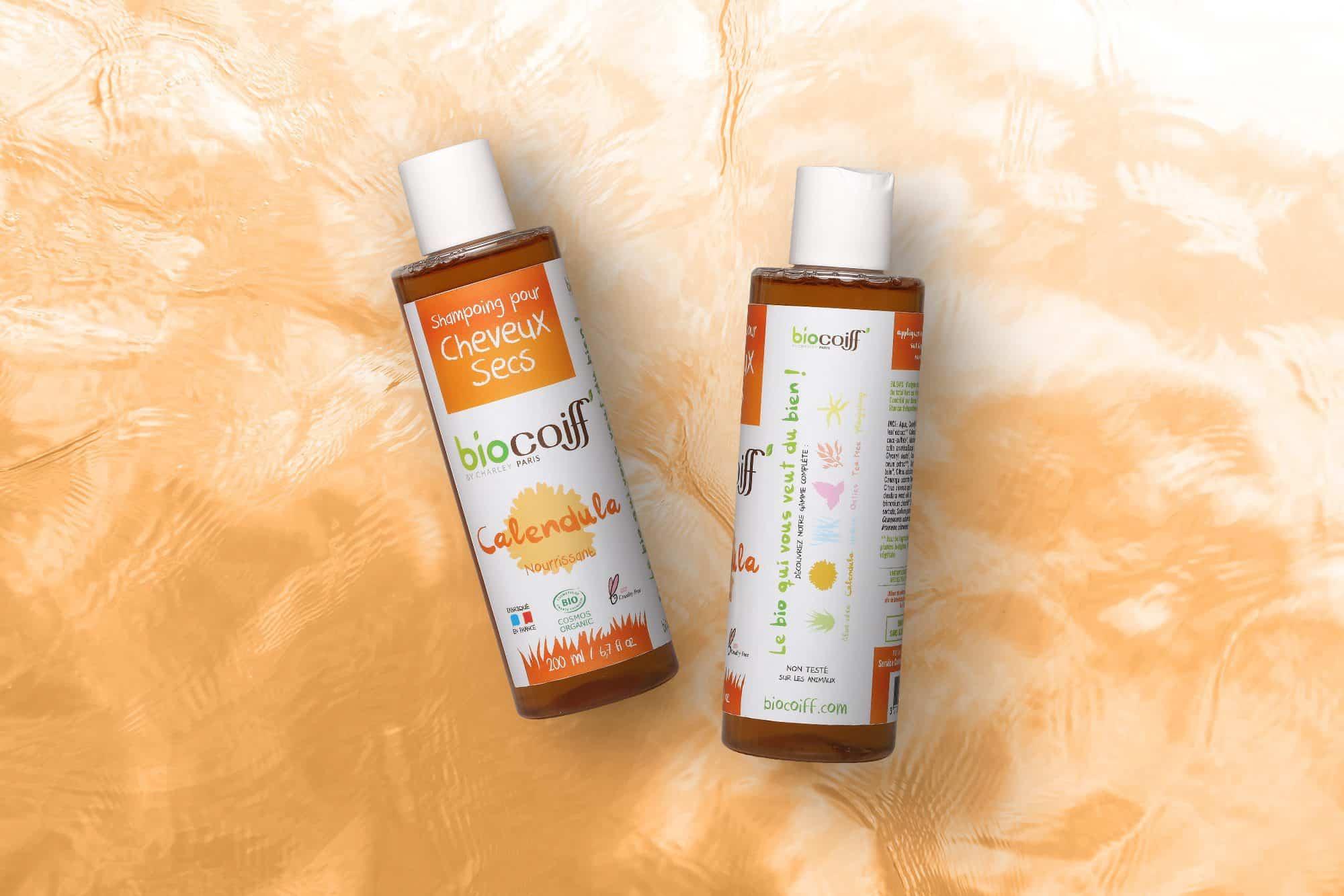 Shampoing bio au calendula par Biocoiff